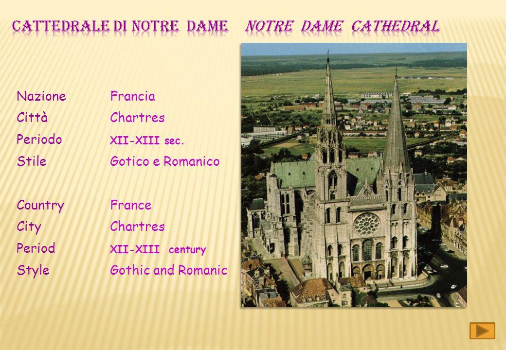 Notre Dame di Parigi è una delle cattedrali gotiche più famose al mondo ed è anche una delle più antiche. Forse è stata la prima in assoluto dove si u