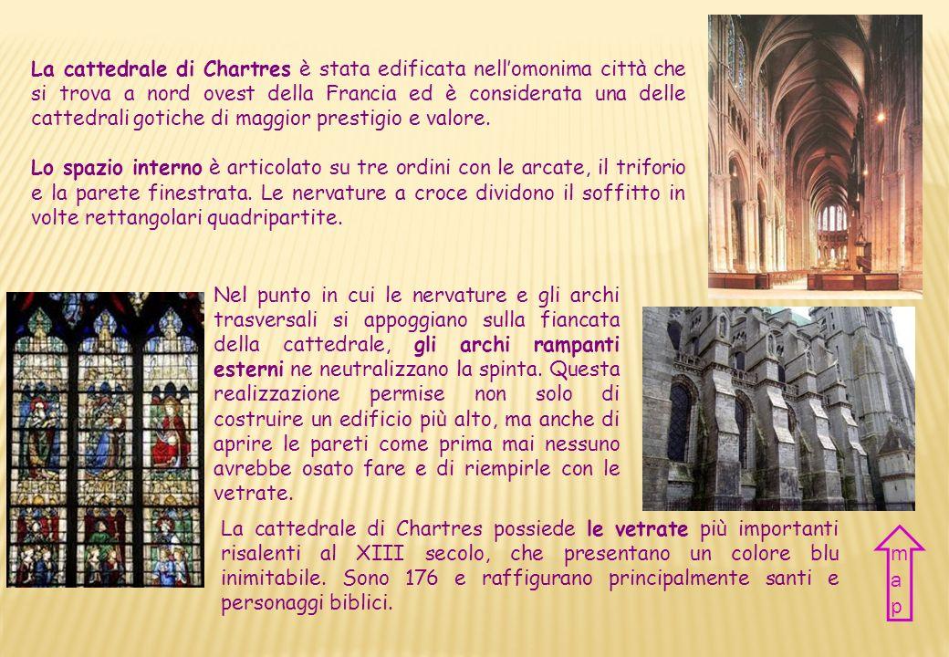 Nazione Francia Città Chartres Periodo XII-XIII sec. Stile Gotico e Romanico Country France City Chartres Period XII-XIII century Style Gothic and Rom