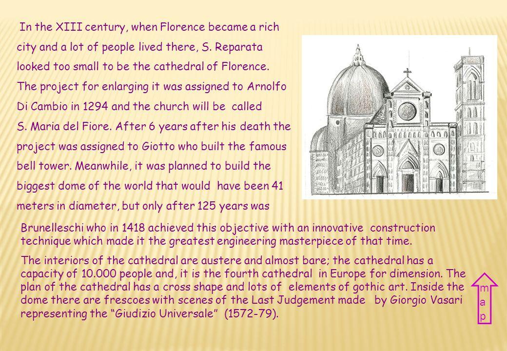 Nazione Italia Città Firenze Periodo XIII-XIV sec. Stile Gotico rinascimentale Country Italy City Florence Period XIII-XIV century Style Gothic renais