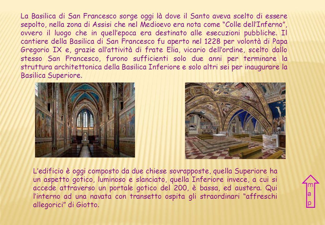 Nazione Italia Città Assisi Periodo XIII sec. Stile Gotico italiano Country Italy City Assisi Period XIII century Style Italian Gothic