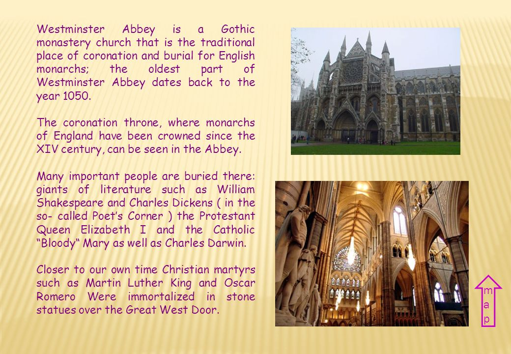 ABBAZIA DI WESTMINSTER WESTMINSTER abbey Nazione Regno Unito Città Londra Periodo XI sec. Stile Gotico Country The United Kingdom City London Period X