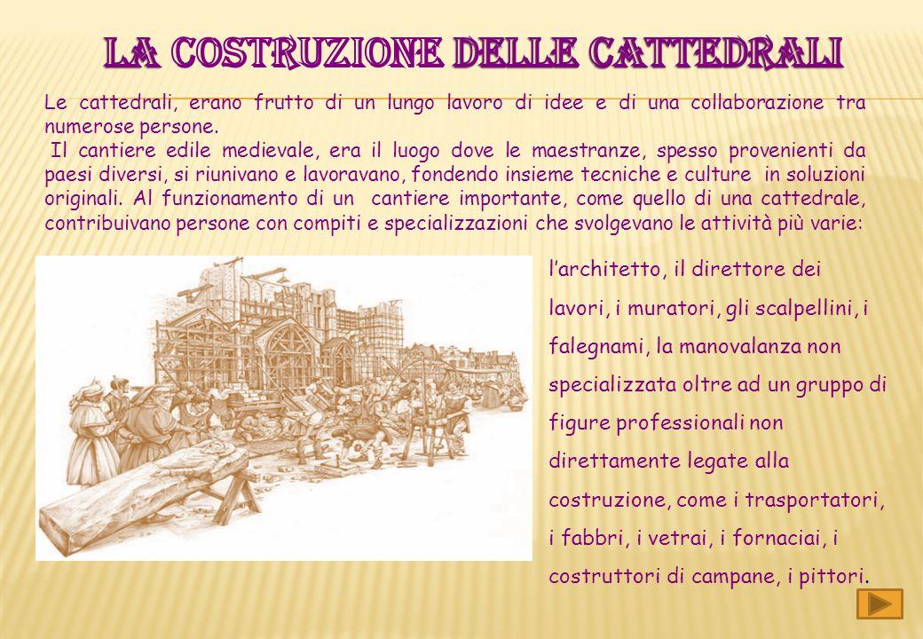 Le prime cattedrali nascono nel IV secolo, quando il Cristianesimo si radica nellimpero di Costantino. La cattedrale sostituisce il tempio romano ed è