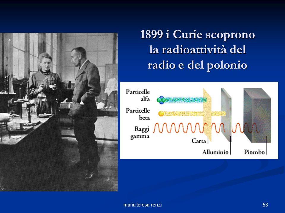 52maria teresa renzi 1896 Bequerelle scopre la radioattività dei sali di uranio