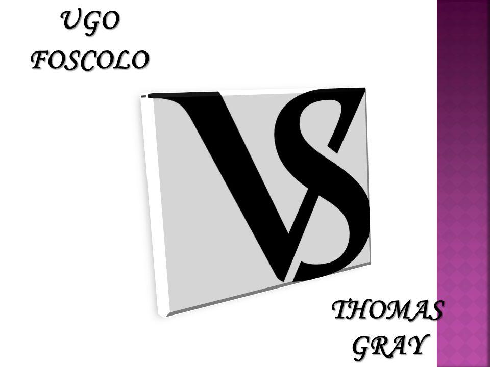 UGOFOSCOLO THOMAS GRAY