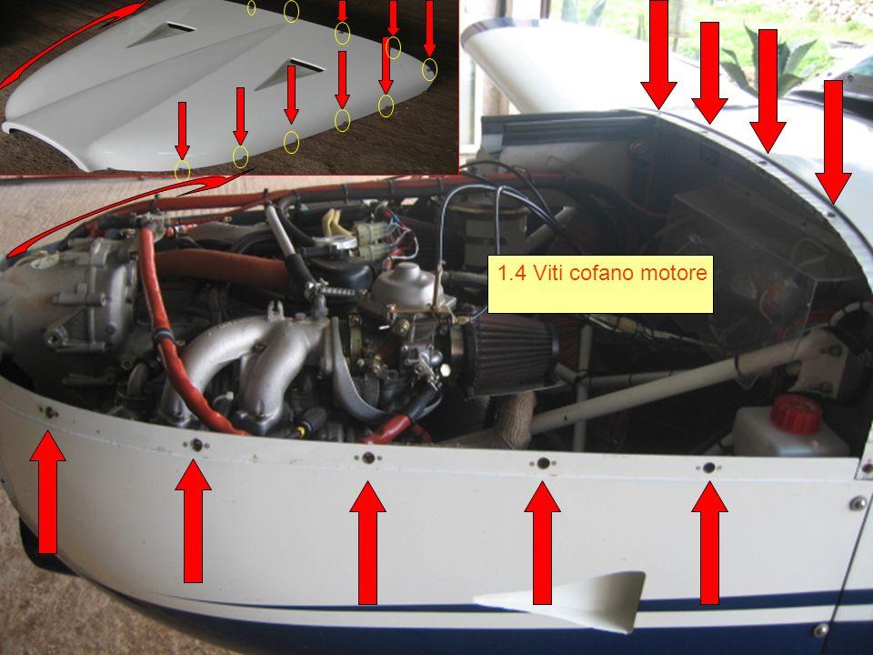 1.4 Viti cofano motore
