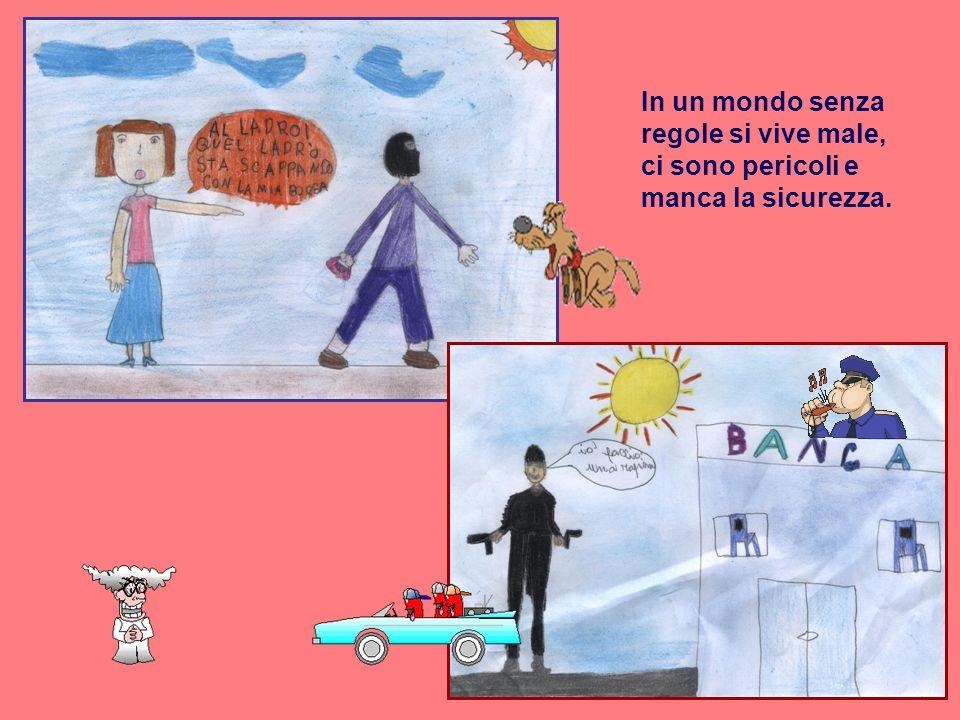 Nei corridoi della scuola, i bambini sono spesso portati a correre e a giocare.