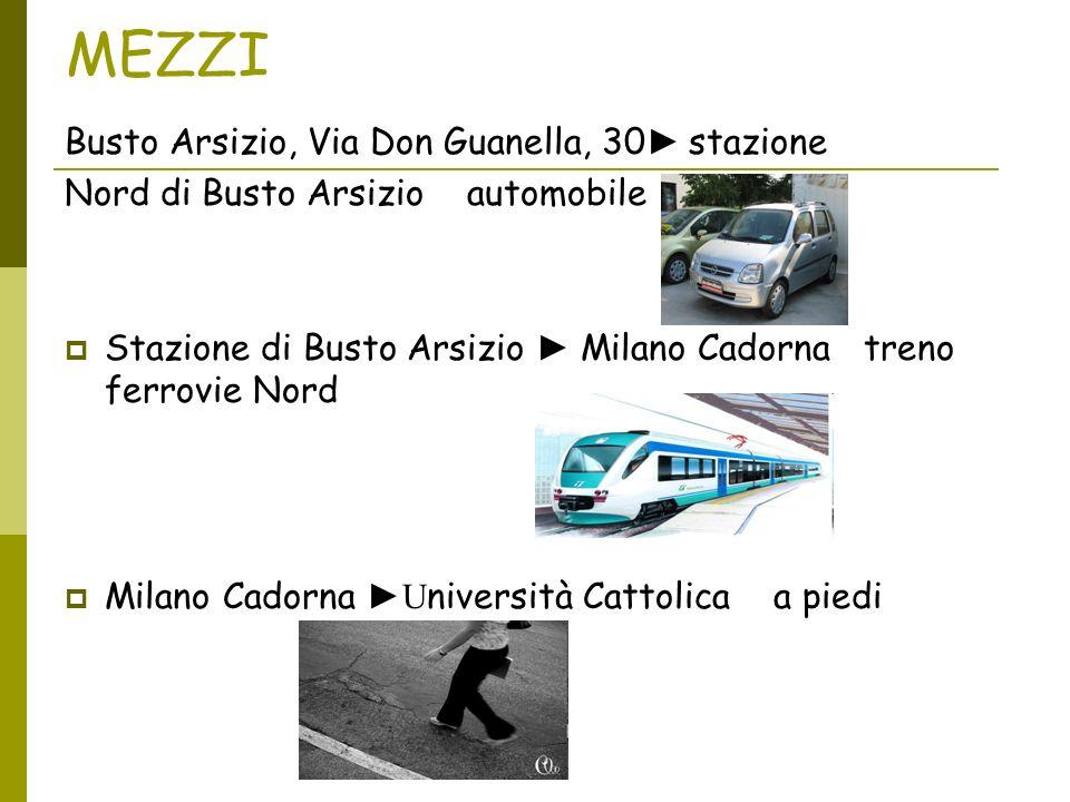 MEZZI Busto Arsizio, Via Don Guanella, 30 stazione Nord di Busto Arsizio automobile Stazione di Busto Arsizio Milano Cadorna treno ferrovie Nord Milan