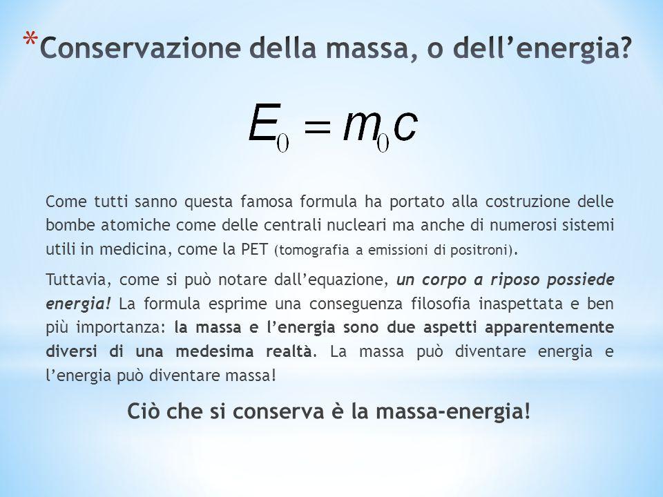 Come tutti sanno questa famosa formula ha portato alla costruzione delle bombe atomiche come delle centrali nucleari ma anche di numerosi sistemi util