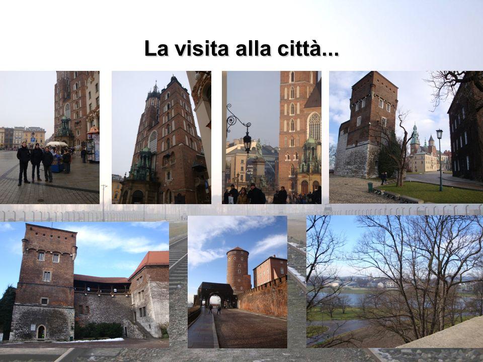 La visita alla città...