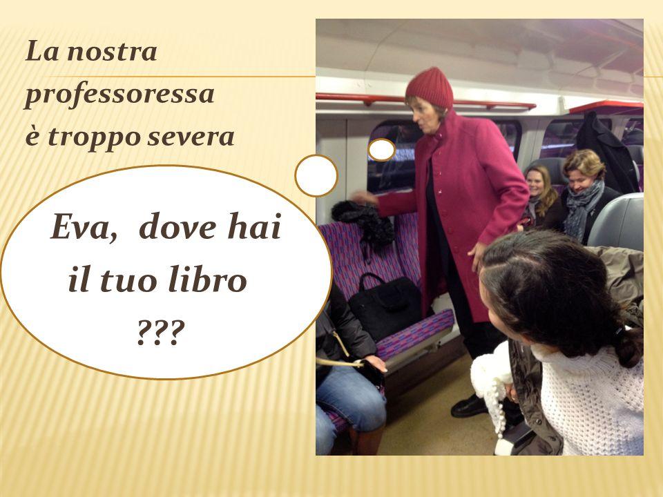 Lucia è felice Vado in treno dopo 25 anni