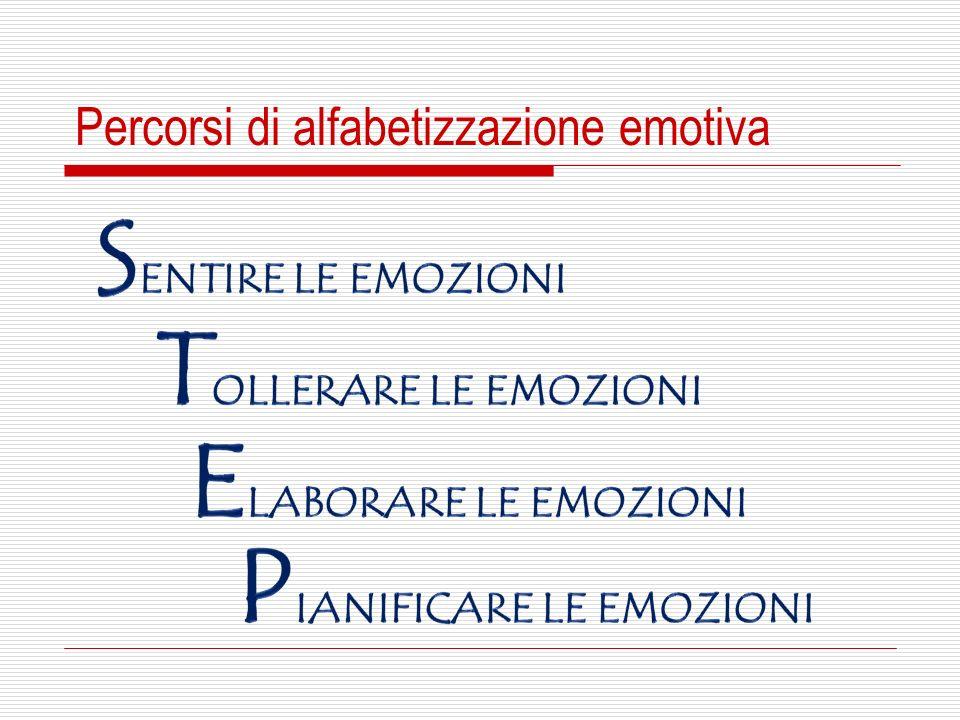 Percorsi di alfabetizzazione emotiva