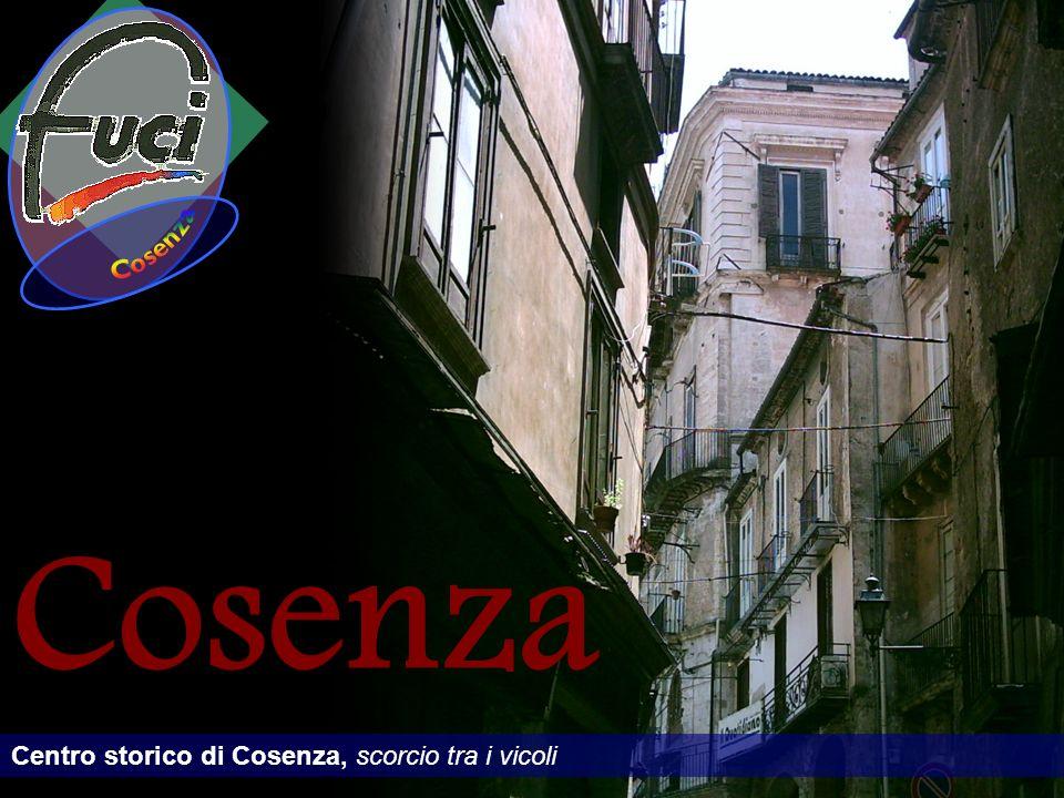 Cosenza Centro storico di Cosenza, scorcio tra i vicoli