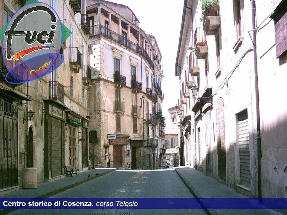 Centro storico di Cosenza, corso Telesio