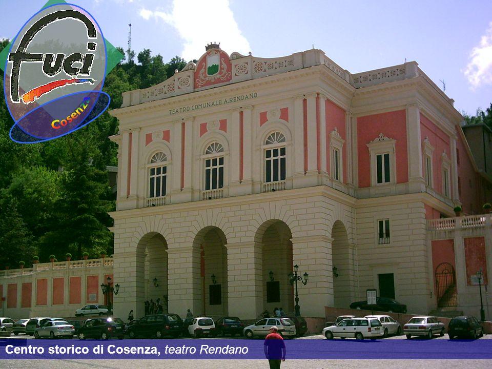 Centro storico di Cosenza, teatro Rendano