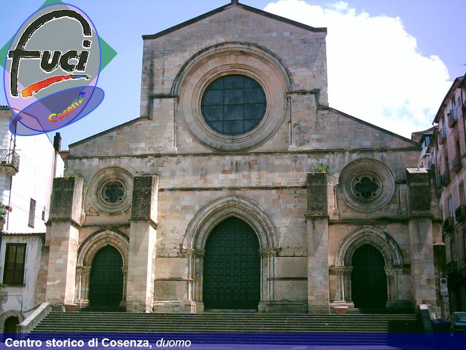 Centro storico di Cosenza, duomo