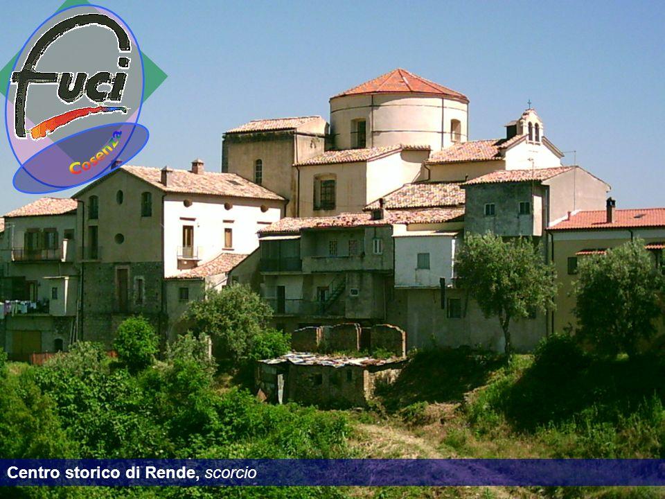Centro storico di Rende, scorcio