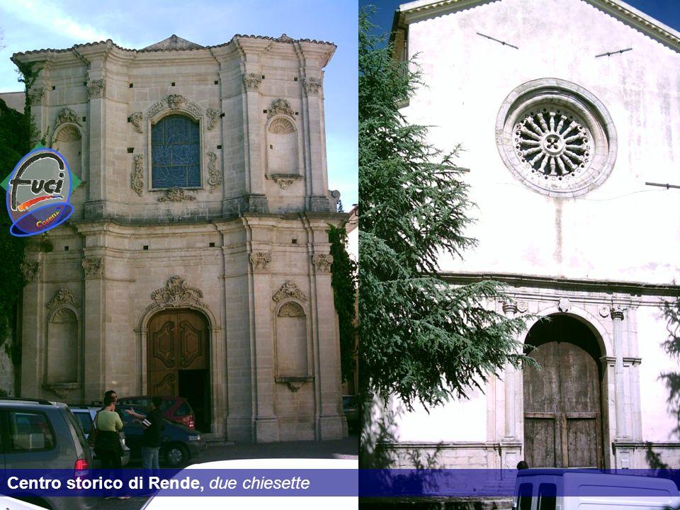 Centro storico di Rende, due chiesette