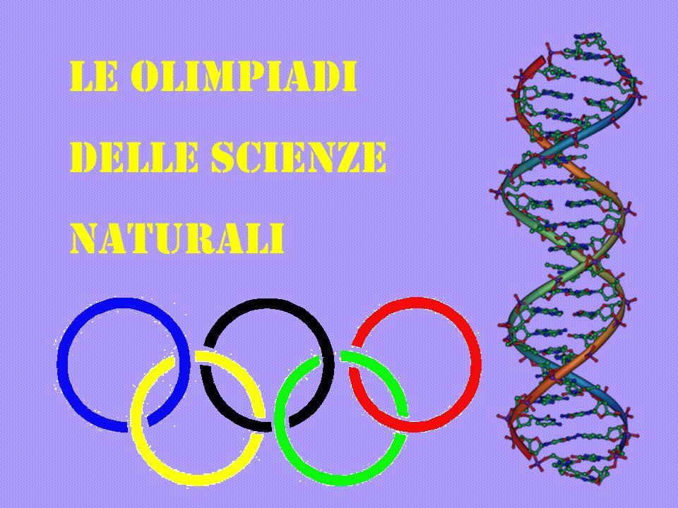 LE OLIMPIADI DELLE SCIENZE NATURALI