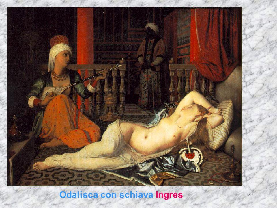 27 Odalisca con schiava Ingres