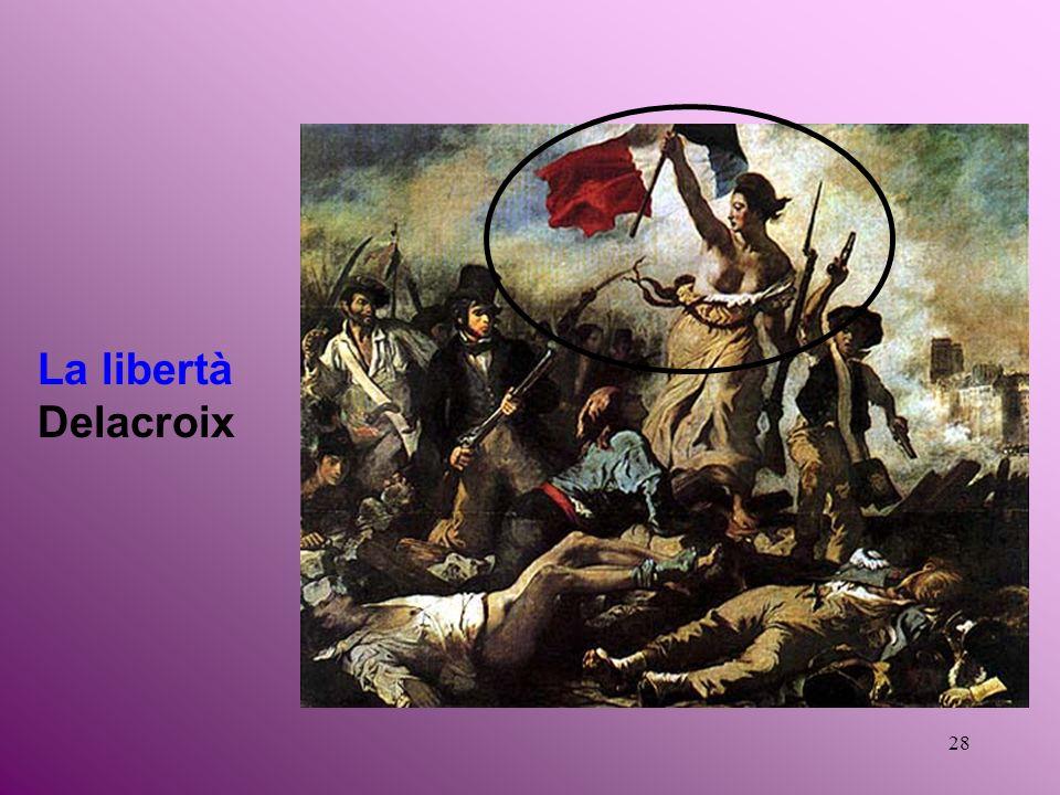 28 La libertà Delacroix
