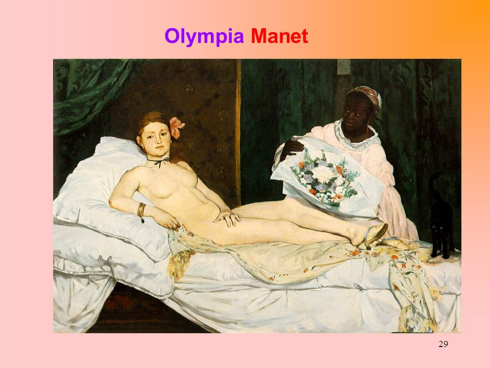 29 Olympia Manet