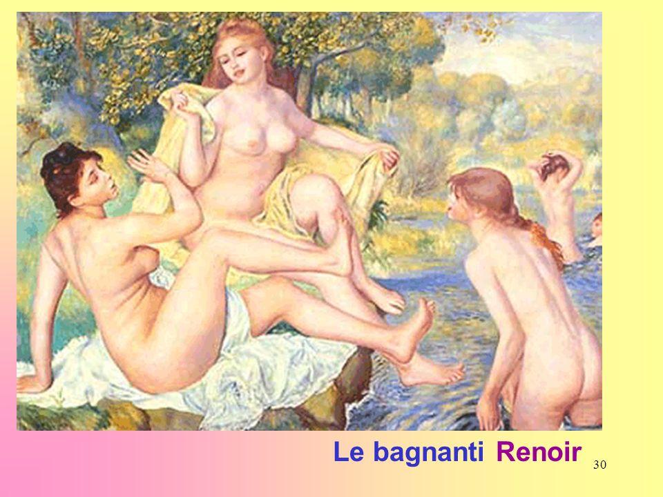 30 Le bagnanti Renoir