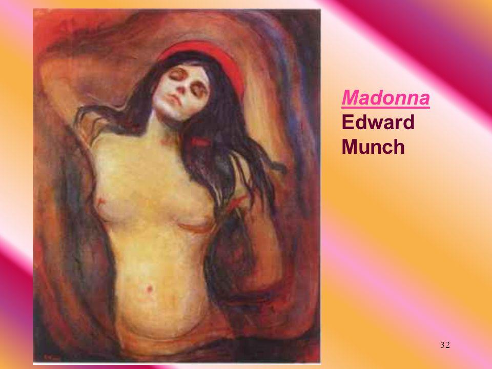 32 Madonna Edward Munch