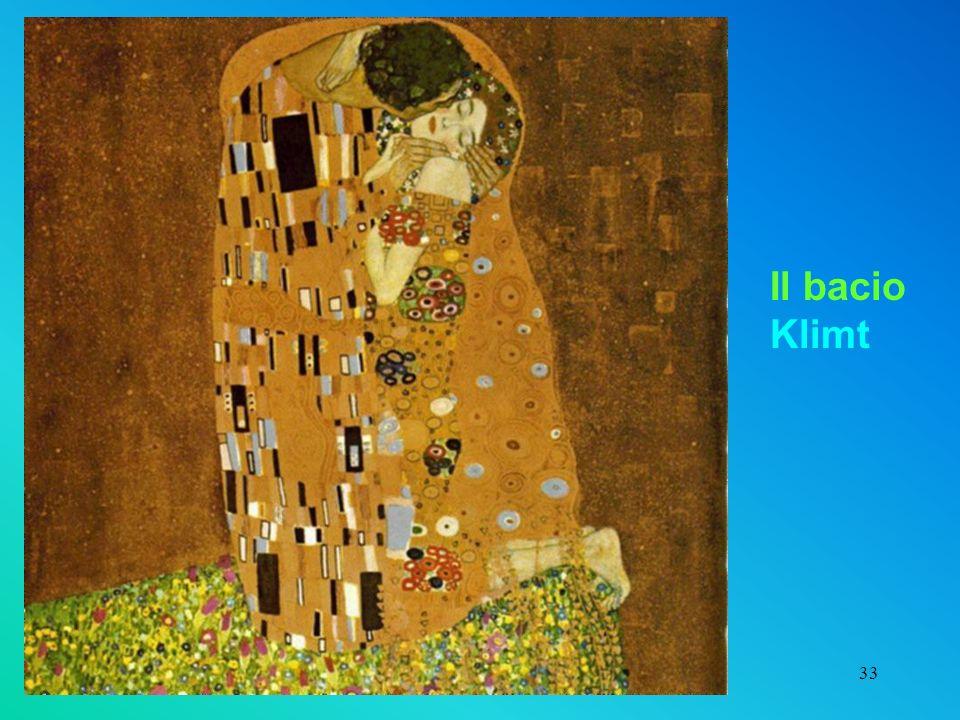 33 Il bacio Klimt