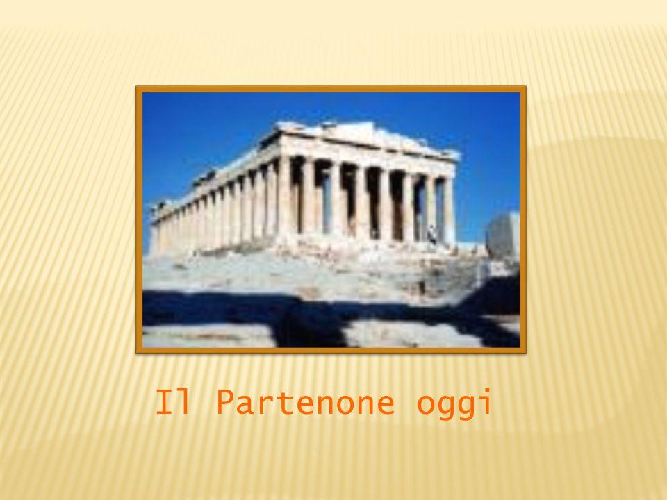 Il Partenone oggi