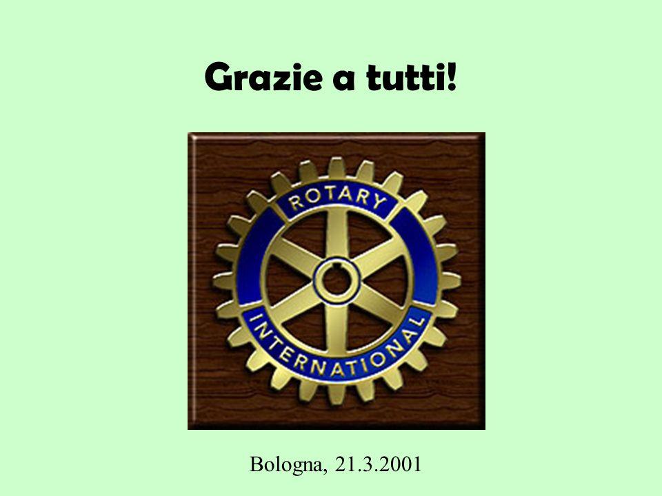 Grazie a tutti! Bologna, 21.3.2001