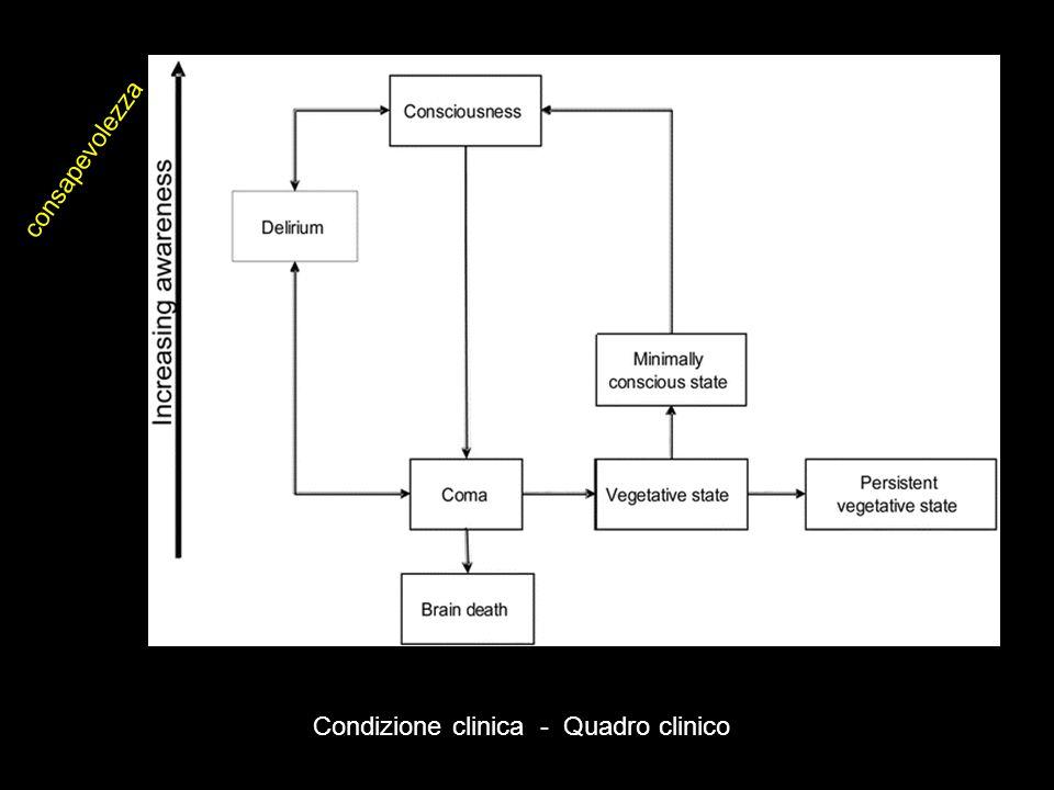Condizione clinica - Quadro clinico consapevolezza