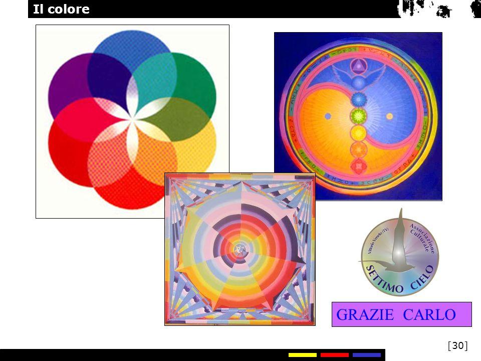Il colore [30] GRAZIE CARLO
