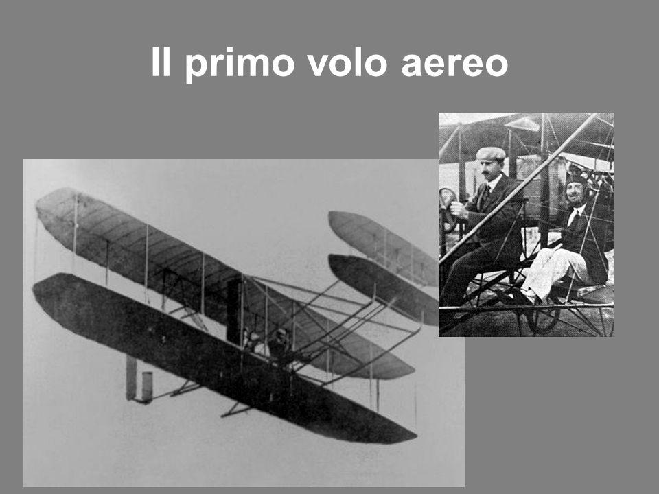 Il primo volo aereo