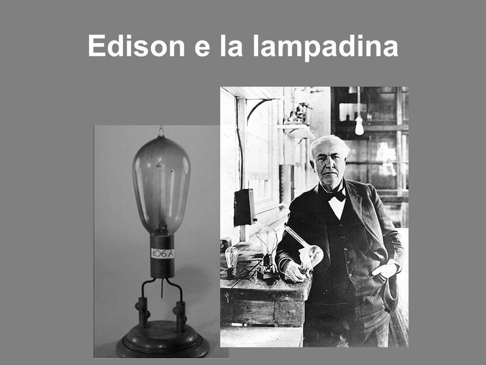 Edison e la lampadina