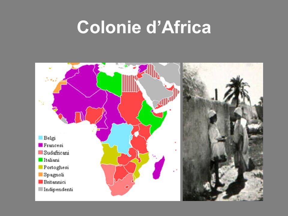 Colonie dAfrica