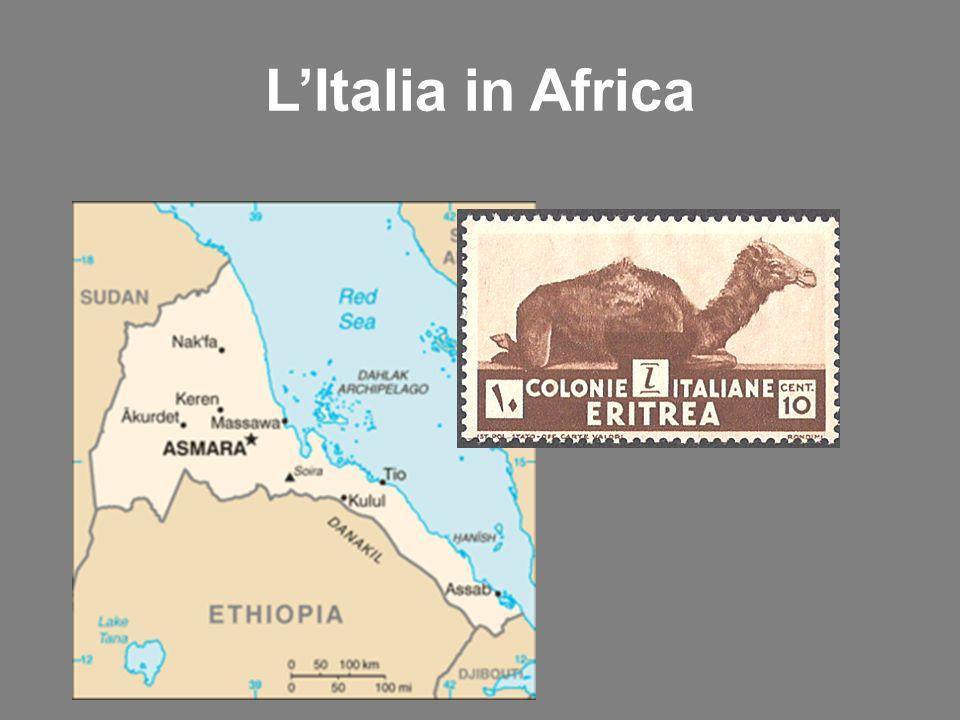 LItalia in Africa
