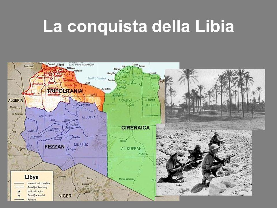 La conquista della Libia