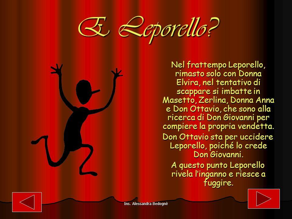 E Leporello.