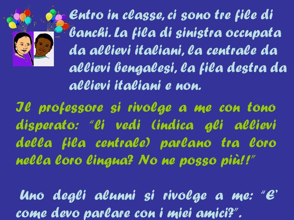 Marta è molto agitata, ad aprile in classe è arrivata unallieva dall Eritrea, tra vacanze pasquali e altre giornate festive i giorni di scuola sono stati pochissimi per la nuova allieva.