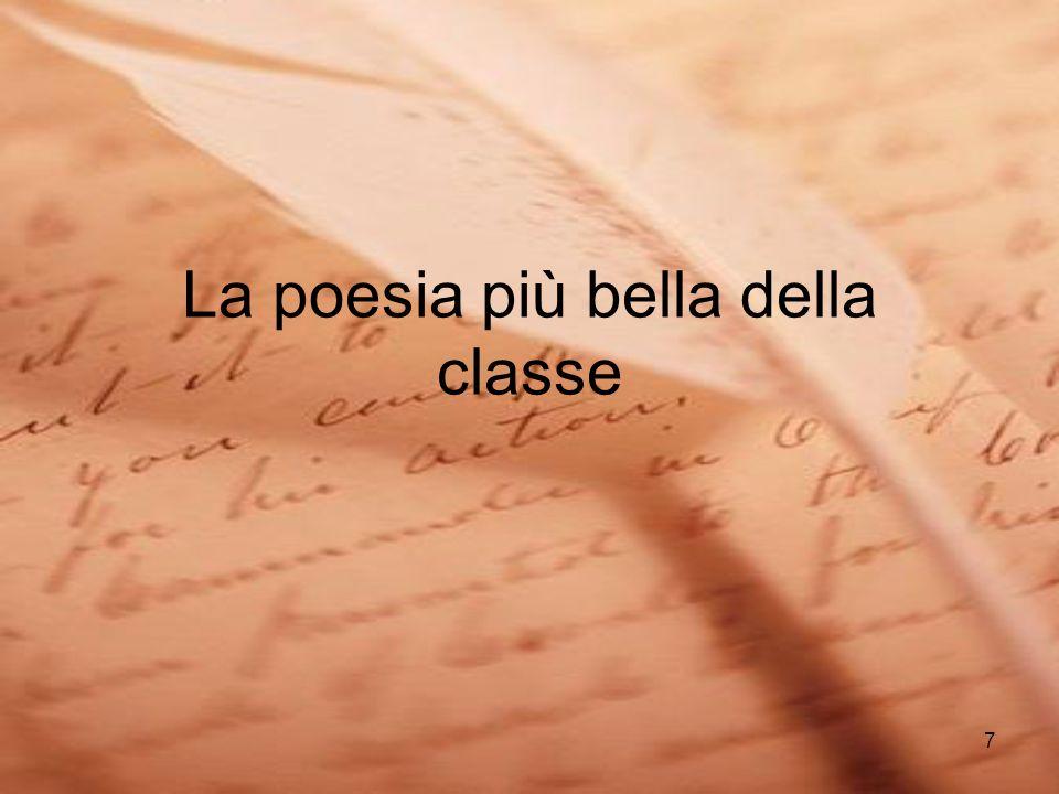 7 La poesia più bella della classe
