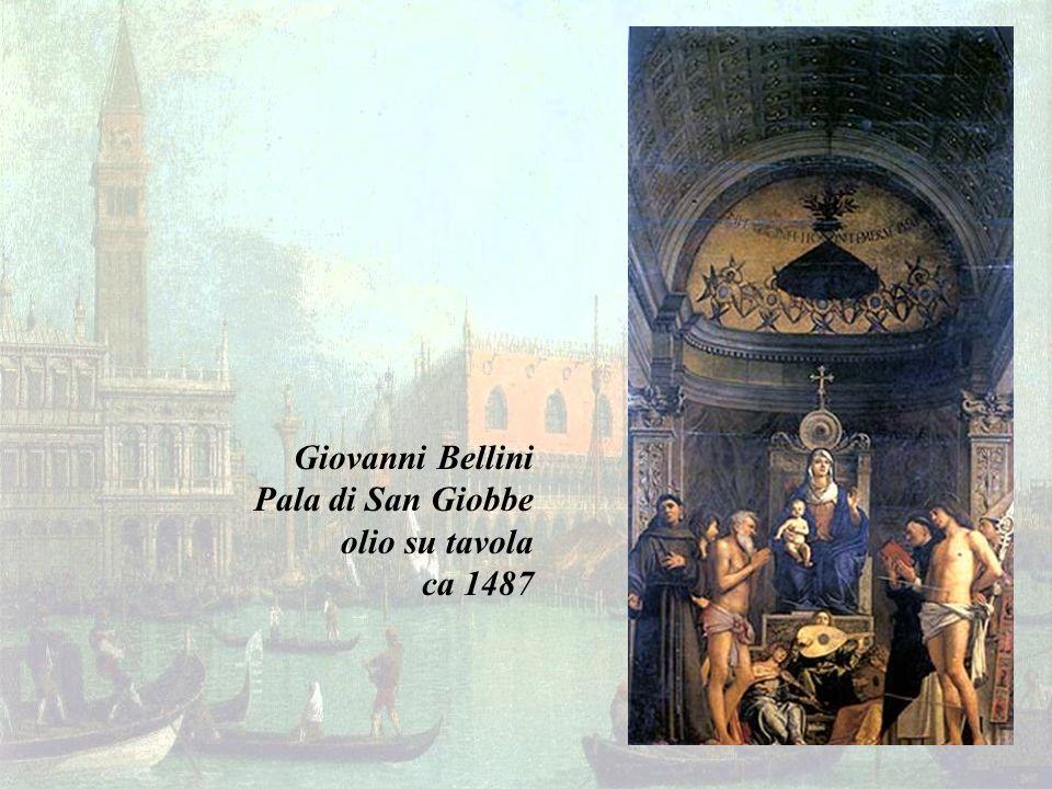 Giovanni Bellini Pala di San Giobbe olio su tavola ca 1487