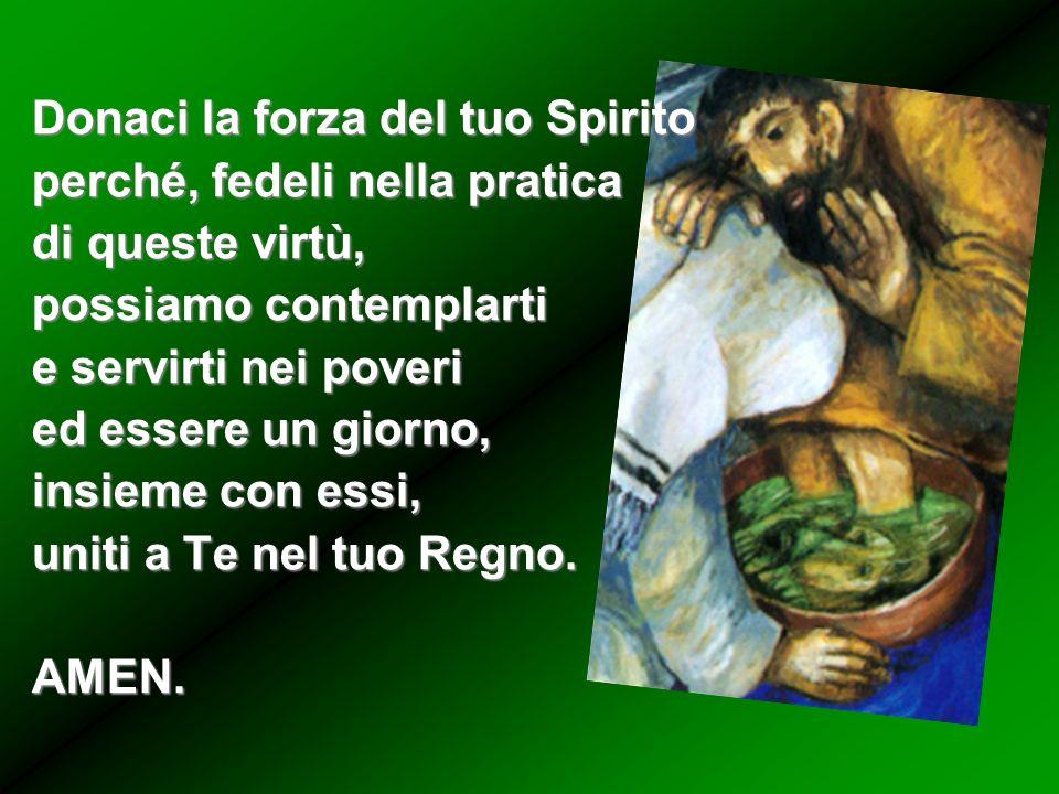 Suscita nella Famiglia Vincenziana lunità, la semplicità, lumiltà e il fuoco della carità che infiammò San Vincenzo.