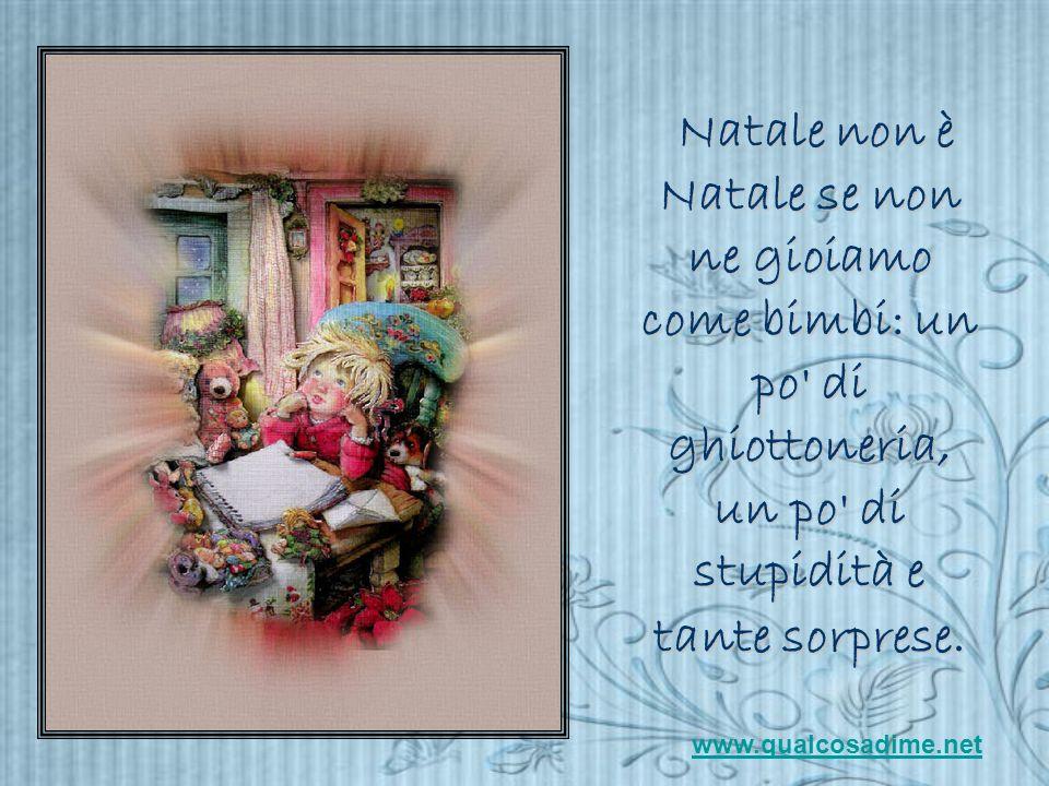 ....E' NATALE.... www.qualcosadime.net Avanza con il klik del mouse