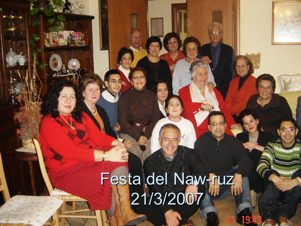 Festa del Naw-ruz 21/3/2007