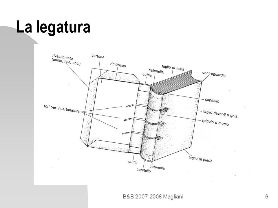 B&B 2007-2008 Magliani6 La legatura