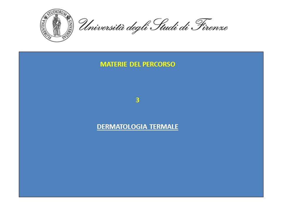 MATERIE DEL PERCORSO 4 PEEELING IN ESTETICA ALFA-IDROSSI-ACIDI ACIDO MANDELICO ACIDO PIRIVICO ACIDO RETINOICO ACIDO SALICILICO PEELING COMBINATI E MISTI COMPLICANZE