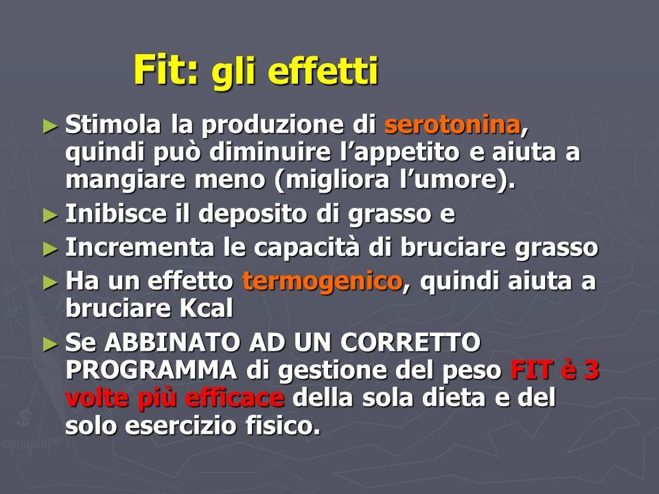Stimola la produzione di serotonina, quindi può diminuire lappetito e aiuta a mangiare meno (migliora lumore). Stimola la produzione di serotonina, qu