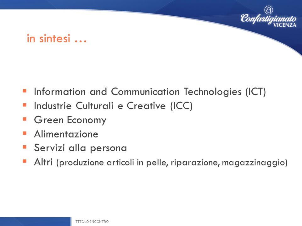 ICT ( Information and Communication Technology) in Italia ha un valore complessivo pari a 66,6 miliardi di euro, un valore che colloca il nostro Paese al quarto posto in Europa.