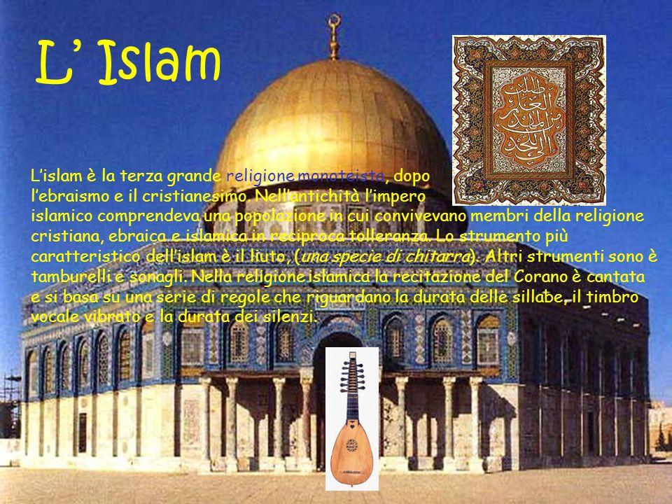 L Islam Lislam è la terza grande religione monoteista, dopo lebraismo e il cristianesimo.