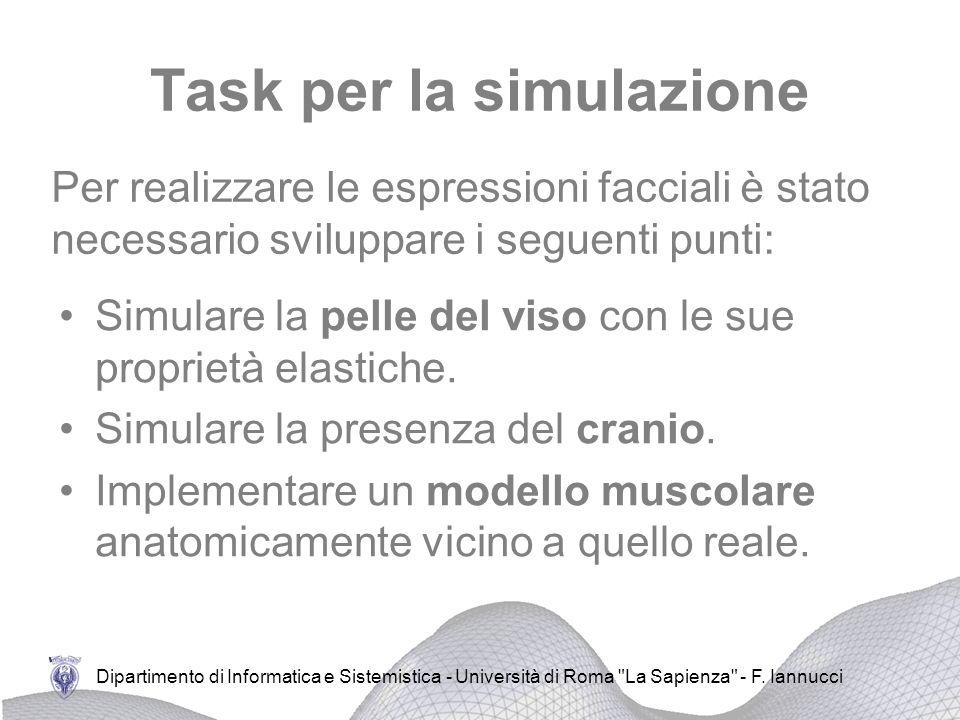 Dipartimento di Informatica e Sistemistica - Università di Roma La Sapienza - F.
